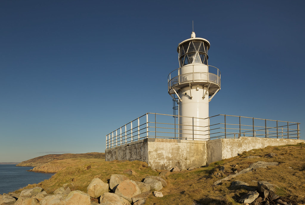 Crammag Head Lighthouse - I by mijoli