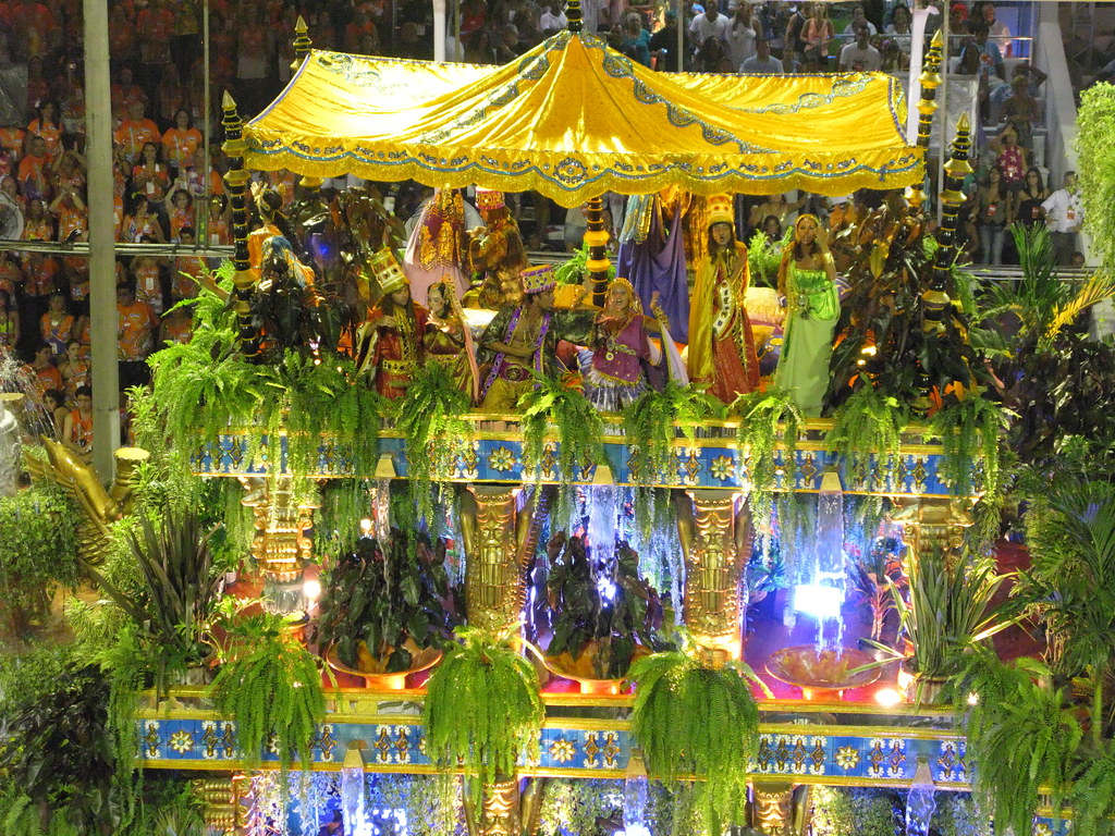 Paulo Barros @ Jardins Suspensos da Babilônia Unidos da Tijuca é campeã do Carnaval Rio de Janeiro Carnival carnavalesco 2010 Carioca Brazil Brasil samba
