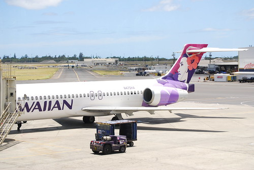 Tail of Hawaiian 717