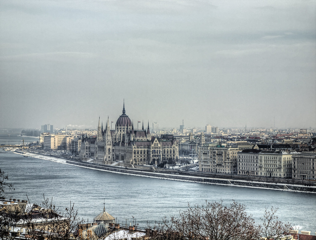 Hungarian Parliment on the Danube