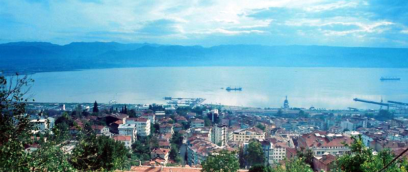 Gulf of Izmit, Turkey, Sea of Marmara