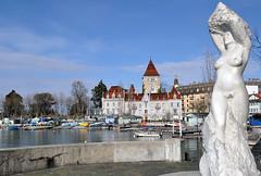 Lausanne, Vaud, Geneva Lake, Switzerland