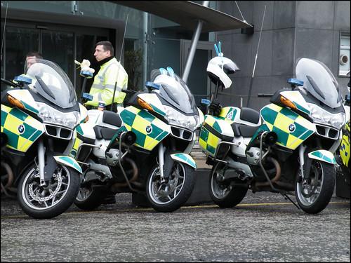 Paramedic Motorcycle