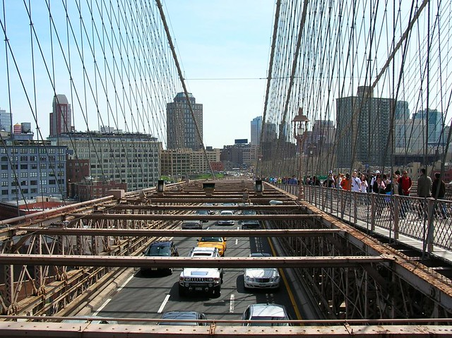 Brooklyn Bridge roadway