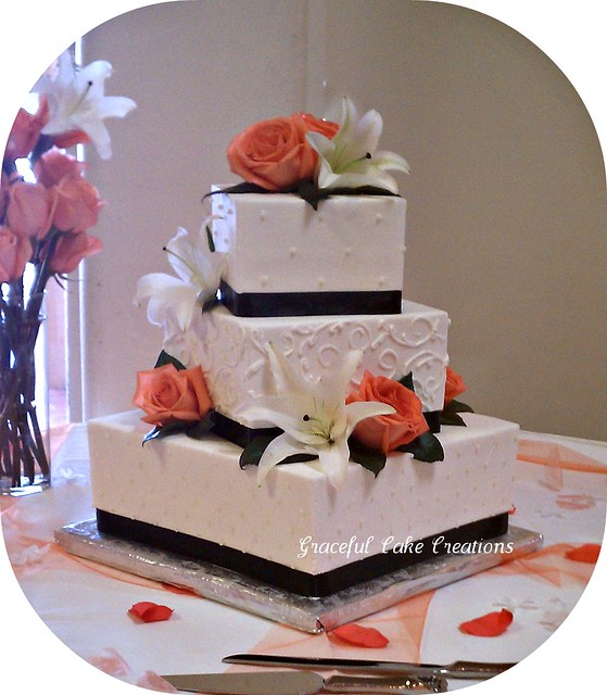 Square Wedding Cake Stand