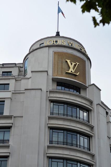 パリのルイ・ヴィトン店舗