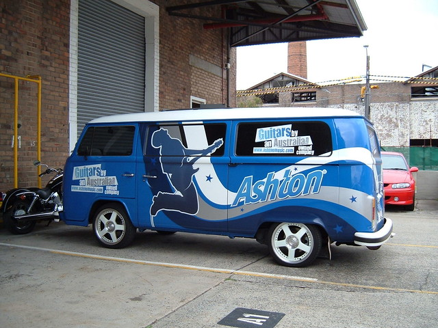 VW Kombi Van ashtonmusiccom