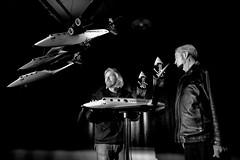 Burt Rutan and Sir Richard Branson, New York, Jan 08