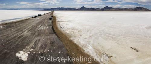 panorama art landscape utah desert flat nevada fineart salt panoramic aerial greatsaltlake bonneville stevekeating
