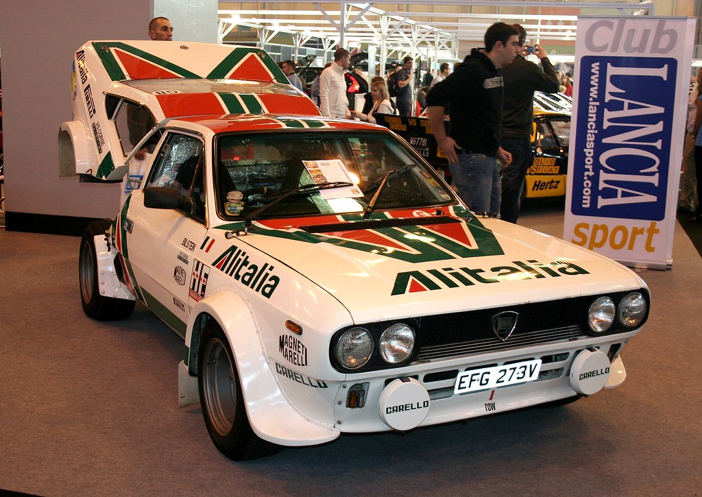 lancia beta coupe rally car | lancia beta coupe rally car - … | flickr