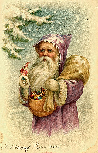 Vintage Christmas/Santa Claus Postcard | Flickr - Photo ...