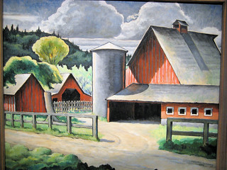 The Farm - 1934 New Deal Painting at Smithsonian American Art Museum