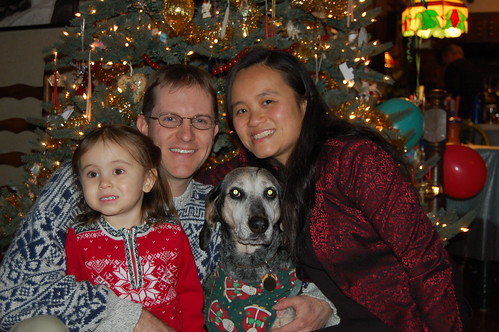 Family Portrait Xmas Eve