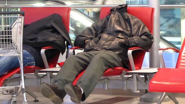 Zzzzzzzzz... @ the airport