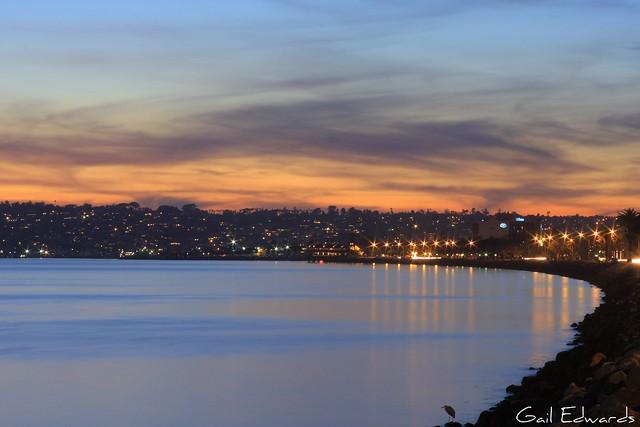 Sunset, San Diego Style
