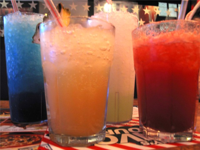 Colorful Drinks of Joy