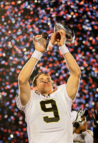 Congratulations Saints - 2010 Superbowl XLIV Champions (Photos by NFL / Yahoo Sports / Getty Images)
