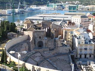 Ampitheater Cartagena
