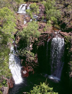 Litchfield National Park . Waterfalls