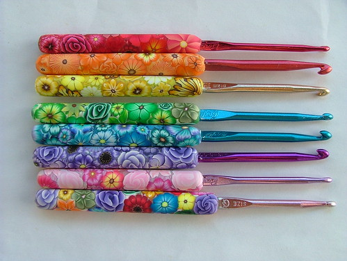 Set of Special order crochet hooks