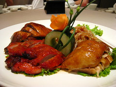 hors d'oeuvre(0.0), fish(0.0), meal(1.0), seafood(1.0), meat(1.0), tandoori chicken(1.0), food(1.0), dish(1.0), cuisine(1.0), peking duck(1.0),
