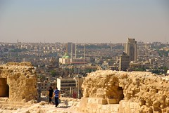Aleppo, view from acropolis