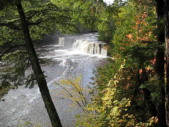 Manabezho Falls Video