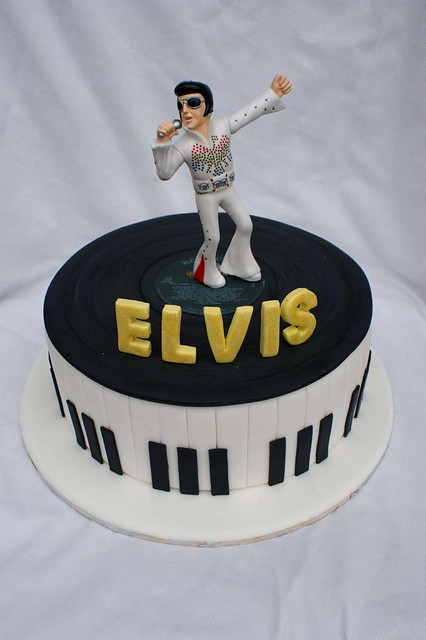 Elvis Cakes A Gallery On Flickr