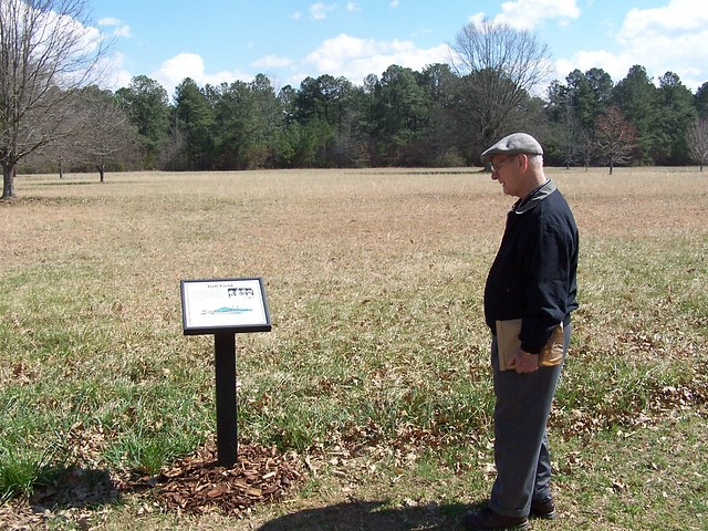 Dad At The New Echota Ball Field