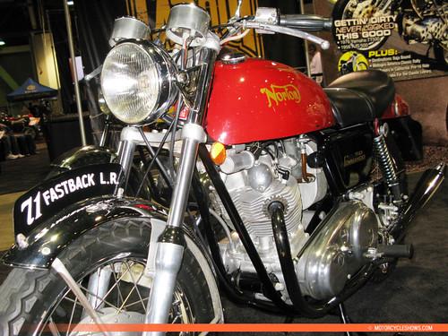 Vintage Norton Motorcycle