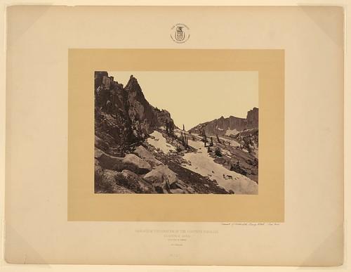 Summit of Wahsatch Range, Utah (Lone Peak) (LOC)