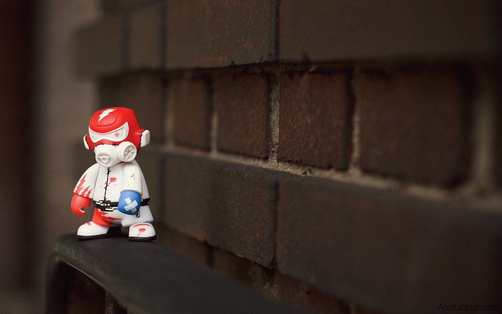 Scootertuning Vinyl Toy - Mini-Trooper #3 [1920x1200 Pixel Wallpaper]