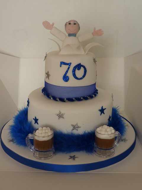 70Th Birthday Cakes for Men http://www.flickr.com/photos/traceybestcakes/4321246513/