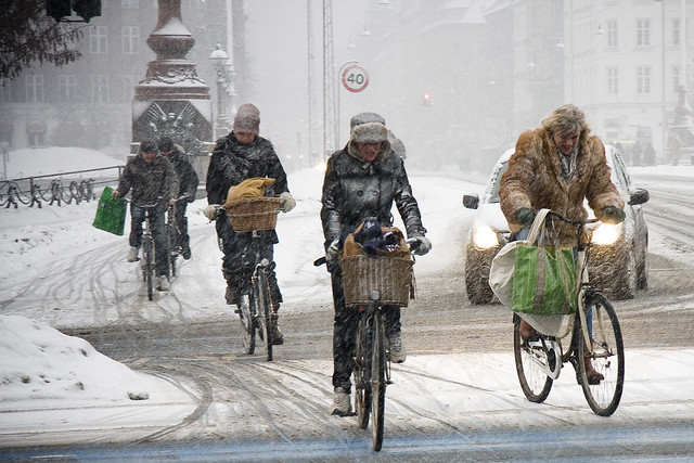 Copenhagen February Traffic 3