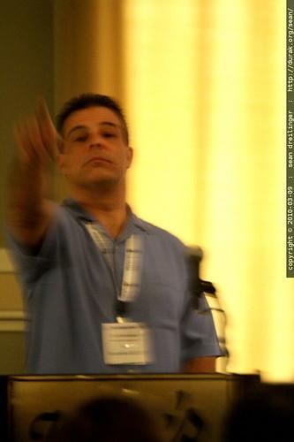 scott hendison moderating a technical SEO panel