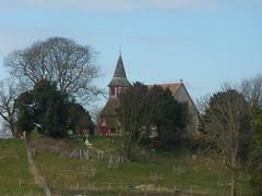 Church near the marsh