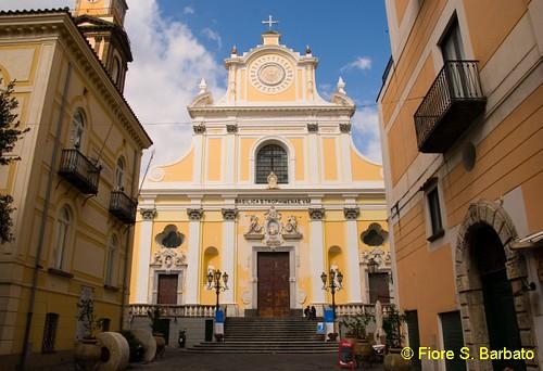 Minori (SA), 2010, Basilica di Santa Trofimena.