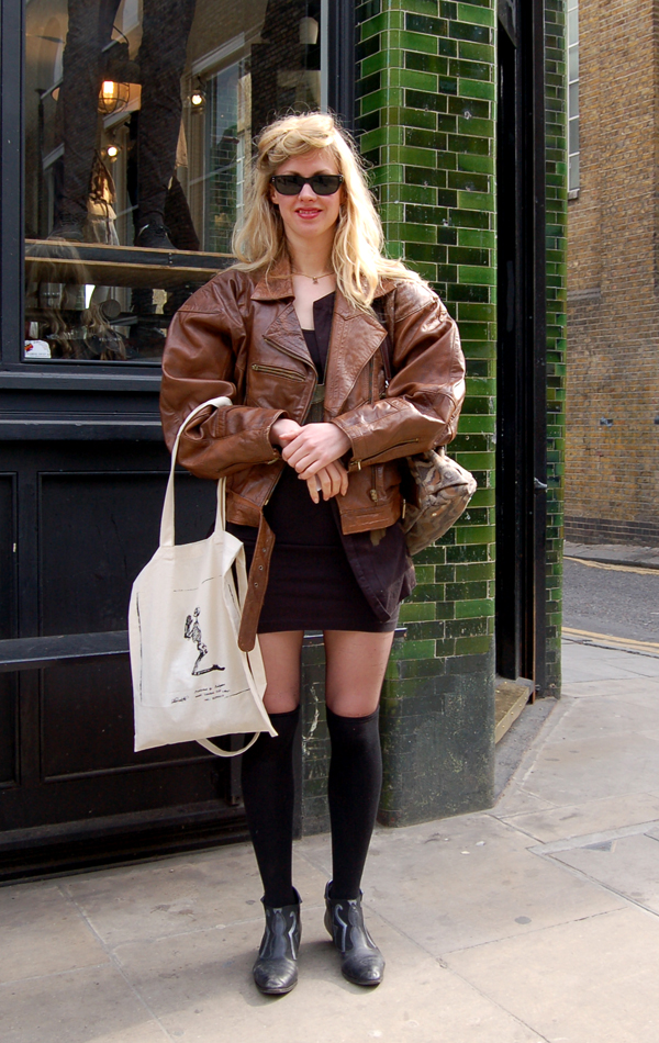 The Style Scout London Street Fashion London Style Fab 80 39 S Looking Jacket