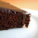 Chocolate Rum Raisin Cake with Brown Sugar Rum Glaze