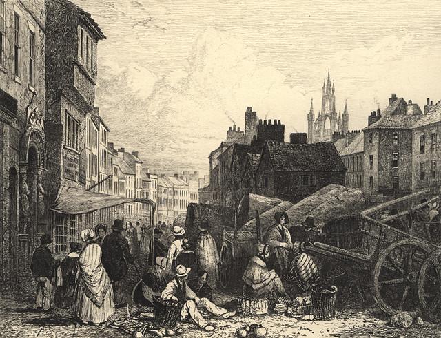 Bigg Market, 1820