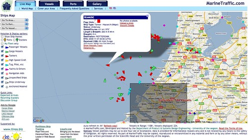 Live Ships Map Ais Vessel Traffic And Positions