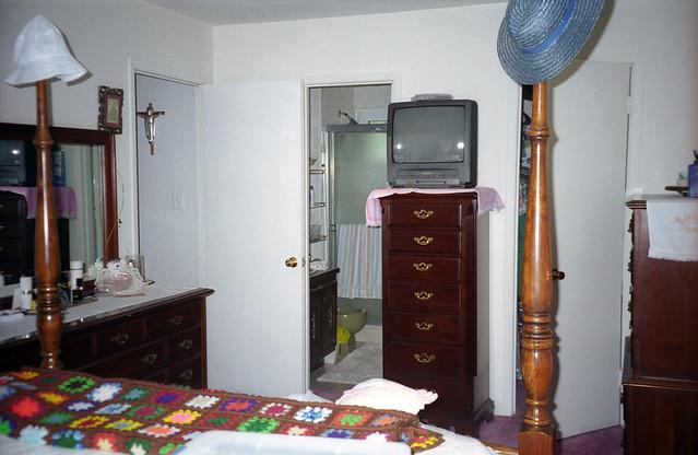 in my parents bedroom