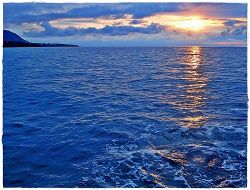 blue sunset sea italy landscape italia tramonto mare cielo sicily azzurro luce sicilia cefalù sonydscw35 paololivornosfriends ☼ilfilodarianna