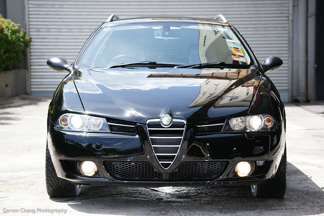 flickriver photoset 39 alfa romeo 156 sw detailed 39 by autodetailer. Black Bedroom Furniture Sets. Home Design Ideas