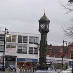 Chamberlain Building and the Joseph Chamberlain Memorial Clock - Jewellery Quarter, Birmingham