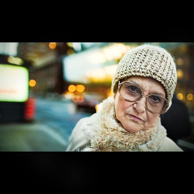 Benoit.P - A stranger, Montreal street, Marie-Simone