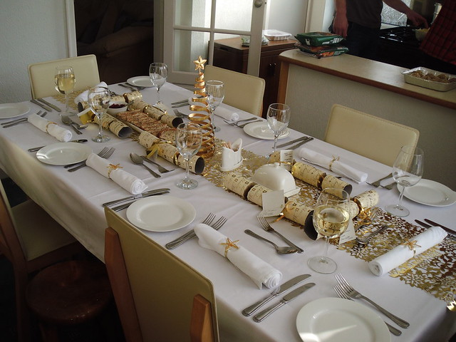 christmas table layout flickr photo sharing