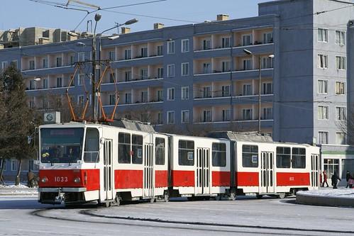 Pyongyang 1033 tram