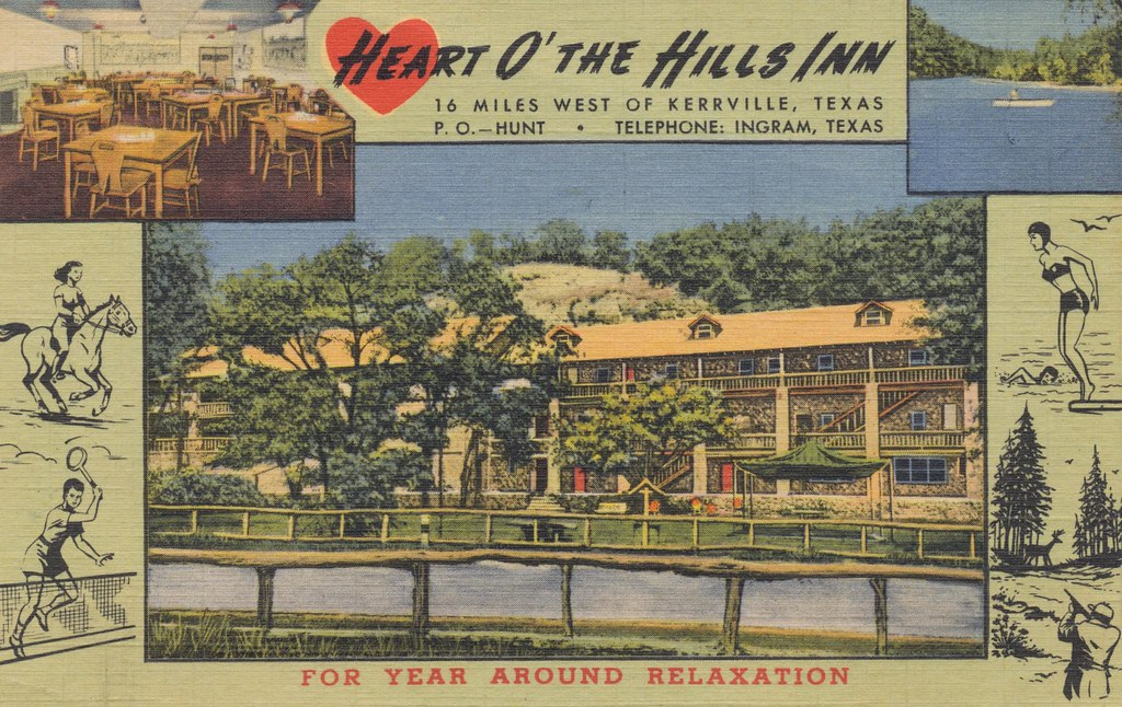 Heart O' The Hills Inn - Ingram, Texas