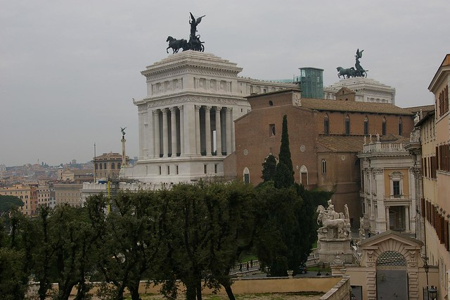 Capitoline Museums in Rome Italy by bramhall via Flickr